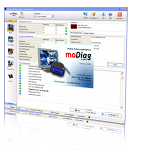 OBD2 Software moDiag expert